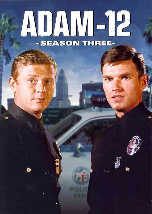 ADAM 12:SEASON THREE BY ADAM 12 (DVD)